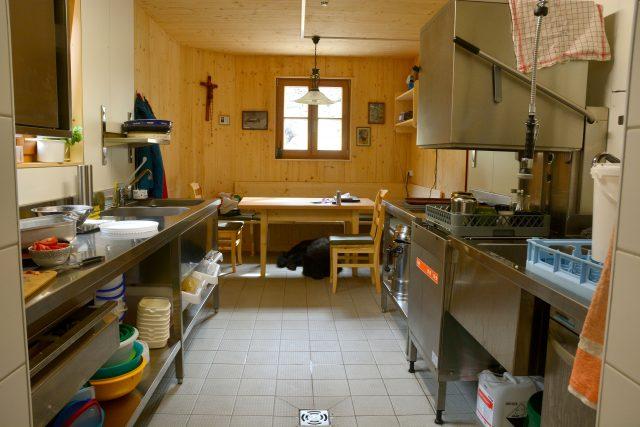 Küche – Personalbereich