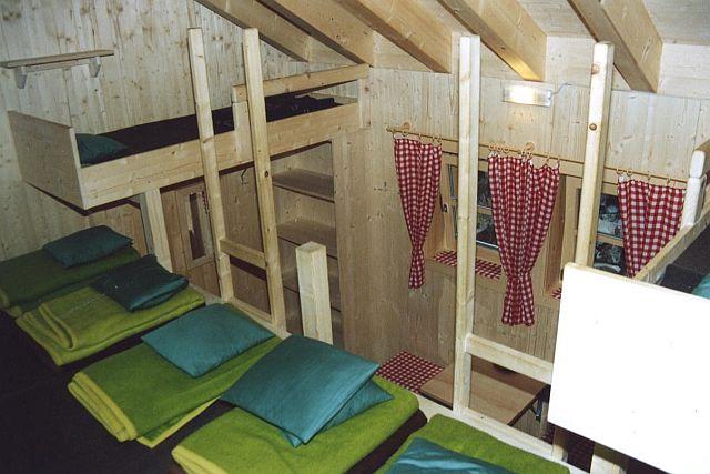 Winterraum Lager von oben