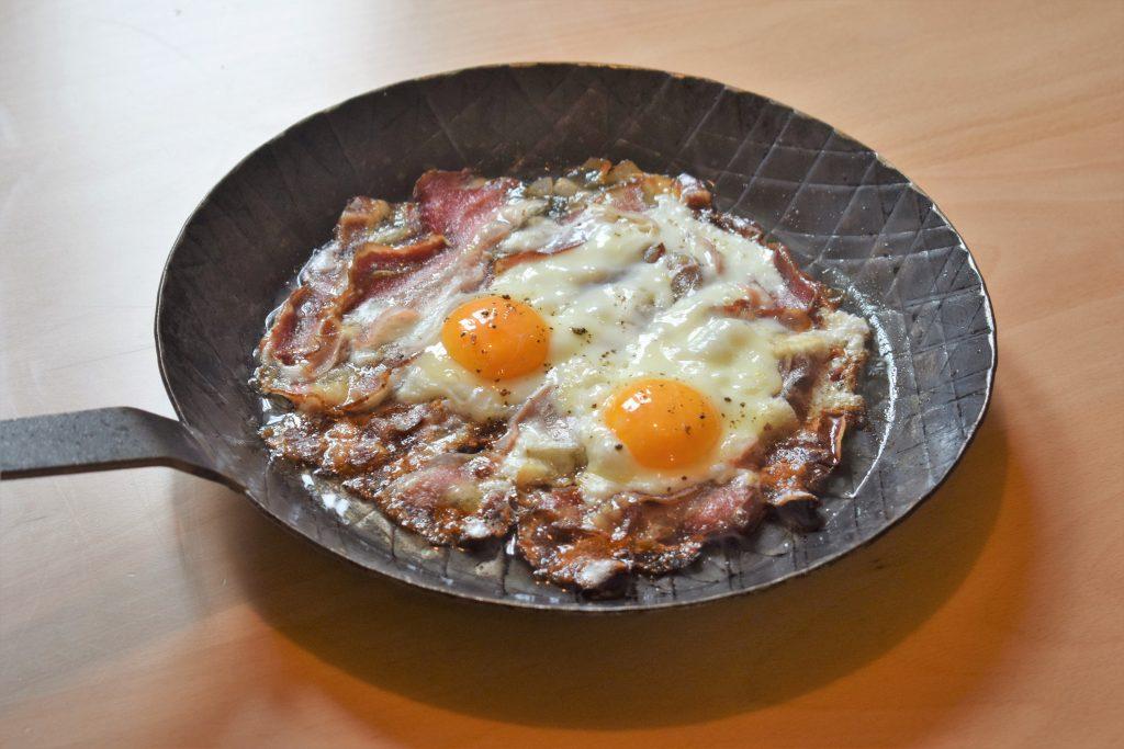 Speck mit Ei